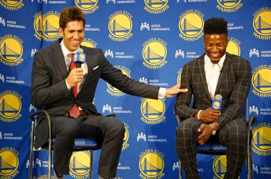 Jordan Bell, Warrriors' draft pick press conference