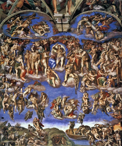 The-Last-Judgement-by-Michelangelo