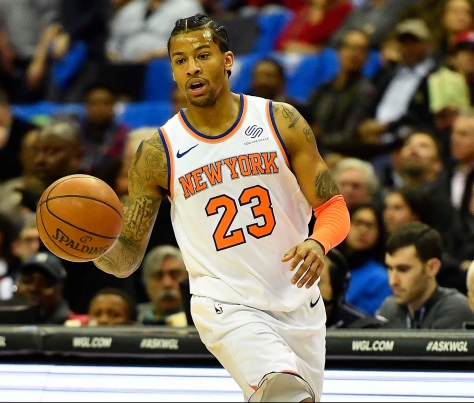 NBA: New York Knicks at Washington Wizards